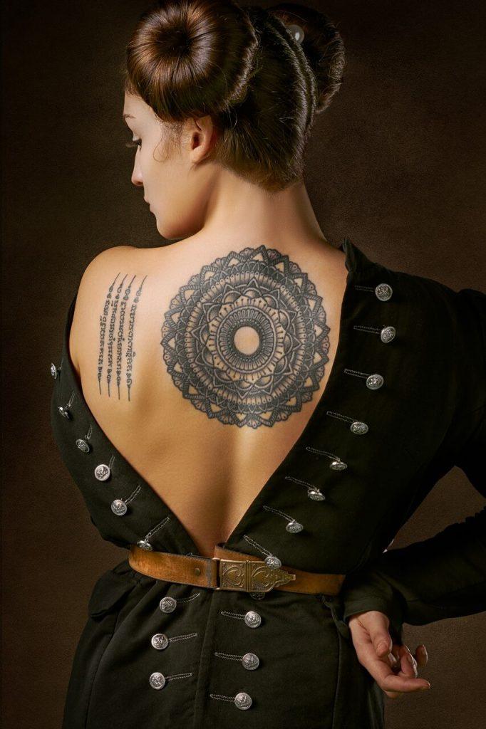 mandala tatuaż znaczenie