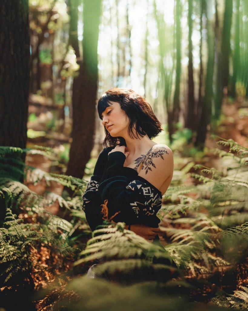 tatuaż las znaczenie