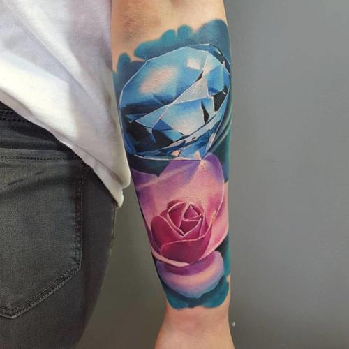 Róża i diament