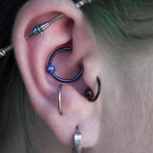 Daith Piercing body piercing by Martin Radziun