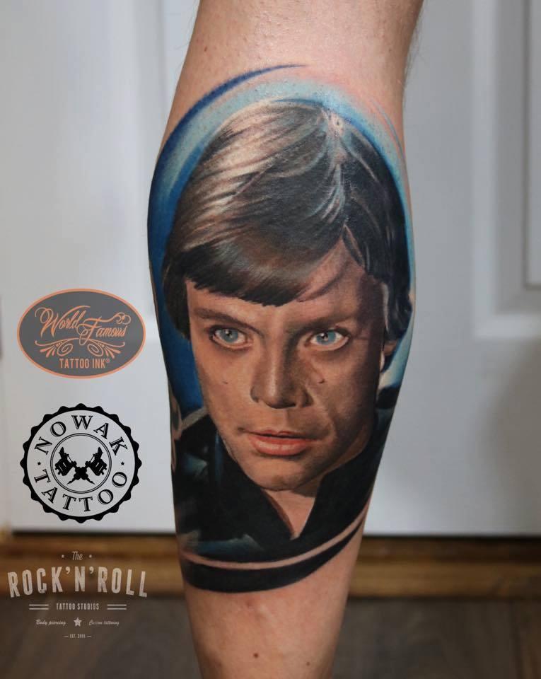 Portret Rocknroll Tattoos