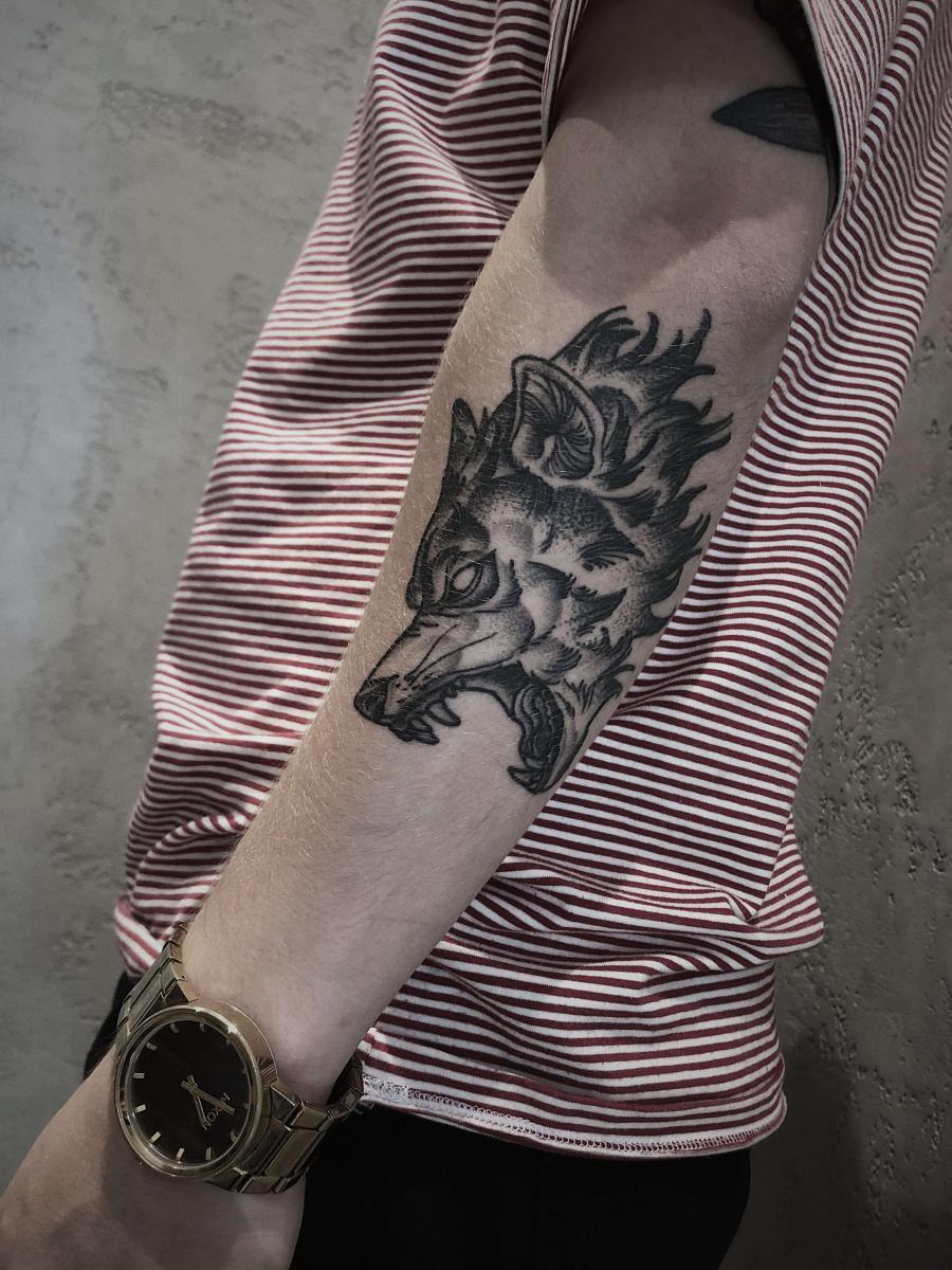 tatuaż wilk znaczenie