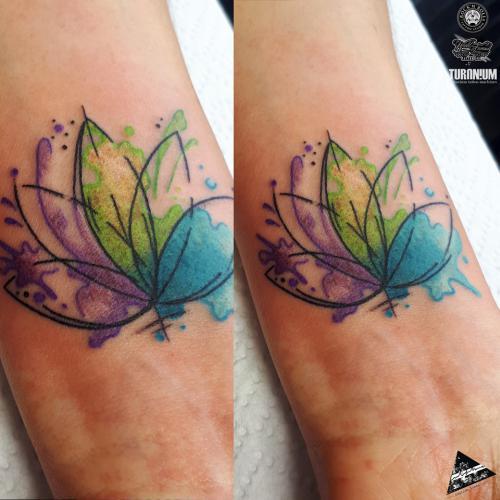 Watercolor kwiatowy